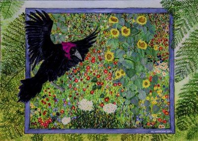 RAVEN IMAGE- Klimt