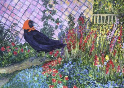 RAVEN IMAGE- Monet
