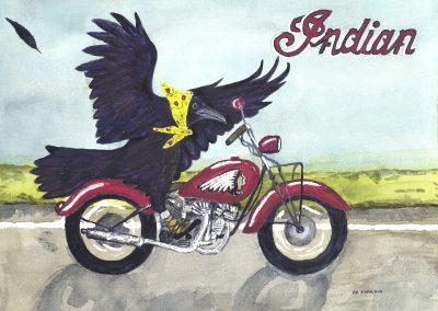 RAVEN IMAGE- Motorcycle
