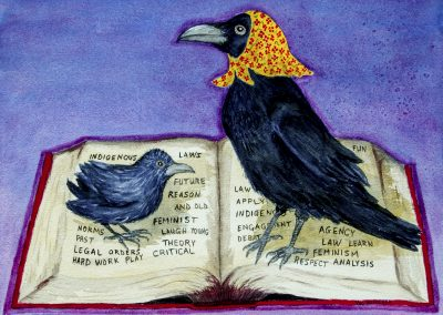RAVEN IMAGE- Teacher and People