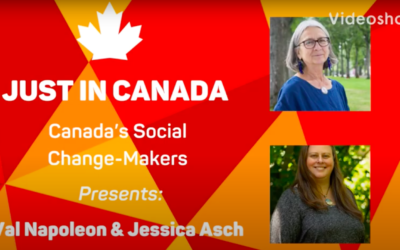 Val Napoleon & Jessica Asch – From the Indigenous Law Research Unit on Indigenous Law